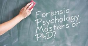 Forensic Psychology college science classes